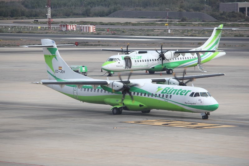 LPA Airport is a hub for Binter Canarias, the main domestic and inter-island carrier.