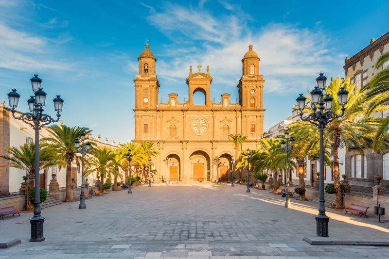 Santa Ana Cathedral is a must-see attraction while your stay in Gran Canaria. It can be found in Las Palmas Old Town.